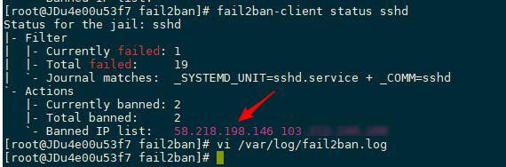 CentOS 7安装fail2ban + Firewalld防止爆破与CC攻击 - 第2张  | 爱好网